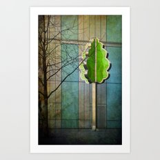 The Modernist Tree Art Print