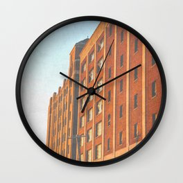 DETROIT STRONG Wall Clock