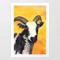 Jacob Lamb Art Print