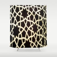 morocco Shower Curtains featuring Morocco by Mirabella Market
