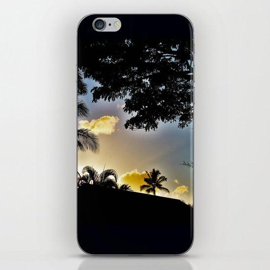 Sillouette Sky iPhone & iPod Skin
