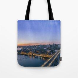 Porto from Serra do Pilar. Tote Bag
