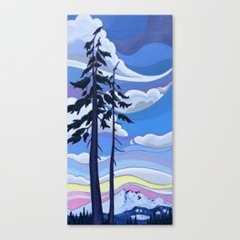 Enjoying the View Together Canvas Print