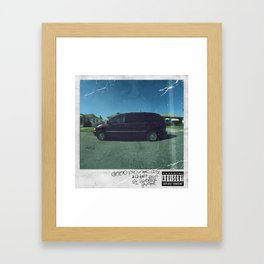 Good Kid, M.A.A.D City Framed Art Print