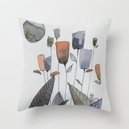 Freedom of movement Throw Pillow
