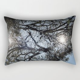 Arterial California TREES Rectangular Pillow