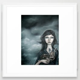 Death Knell Framed Art Print
