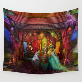 A Mad Tea Party Wall Tapestry