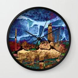 Desert Impressions 2 Wall Clock