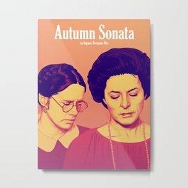 Ingmar Bergman's 'Autumn Sonata' Metal Print