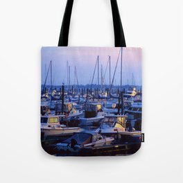 Brooklyn Marina Tote Bag