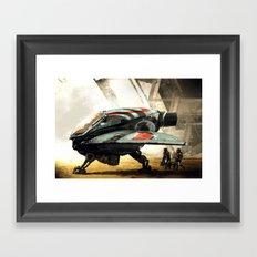 Marine Shuttle 2134 Framed Art Print