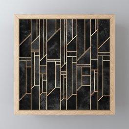 Black Skies Framed Mini Art Print
