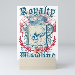 Royalty Bloodline Mini Art Print