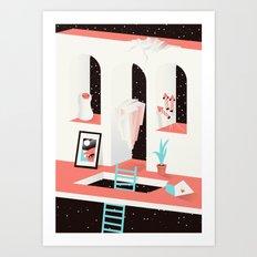 Moon Room Art Print