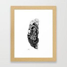 The Creative Side - Brain Framed Art Print