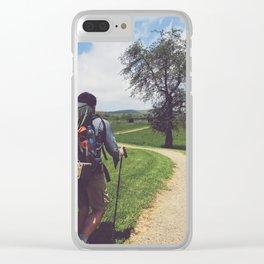 Through Farmlands •Appalachian Trail Clear iPhone Case