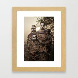 Karo Beauty Framed Art Print