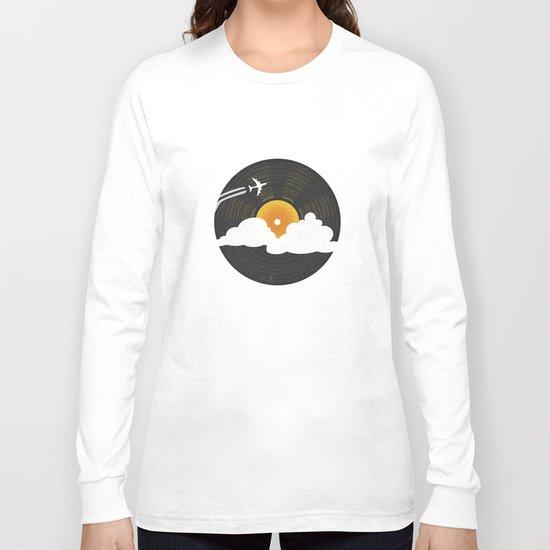 Sunburst Records Long Sleeve T-shirt
