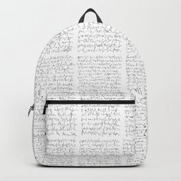 Ideogramme Backpack
