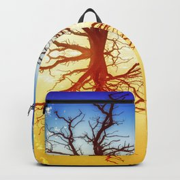 Tree Abstract of Spinning Colors Backpack