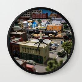 Ricksville 2 Wall Clock