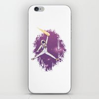 space jam iPhone & iPod Skins featuring Space Jam by Made With Awesome