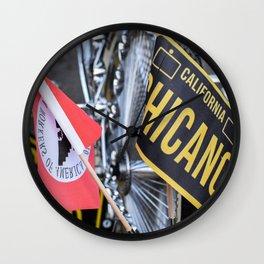 California Chicano Wall Clock