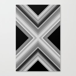 Planetary Displacement Canvas Print