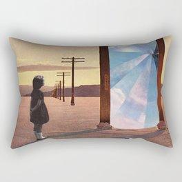 The broken window Rectangular Pillow