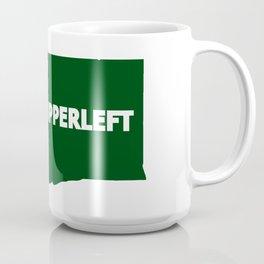 #Upperleft Coffee Mug