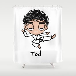 Kung Fu Tod Shower Curtain