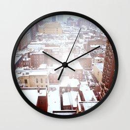Juniper and Locust East View Wall Clock