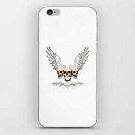 Fortune Favors The Brave iPhone Skin