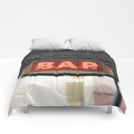 New Orleans Bar Sign Comforters