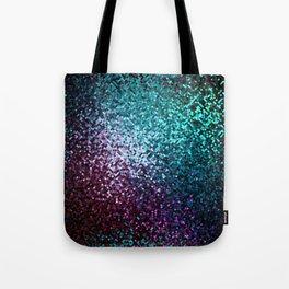 Colorful Mosaic Reflection Tote Bag