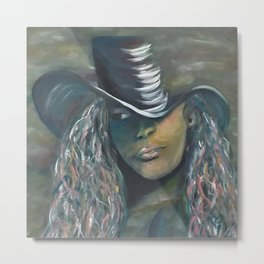 Invisible 2 by Lu Metal Print