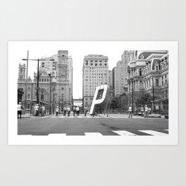 (P)NB –Philadelphia Art Print