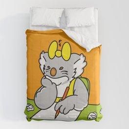 Koalita at school Comforters