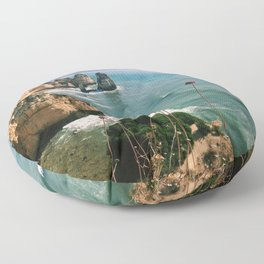 Algarve coast Floor Pillow