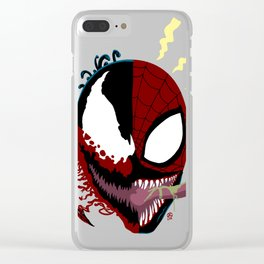 Identity Bleed Clear iPhone Case