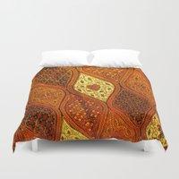batik Duvet Covers featuring batik  by customgift