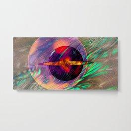 Large Wall Art- Home Deco- Interior Design- New Age Art- Yoga Art Metal Print
