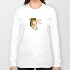 Irreverent Squirrel Long Sleeve T-shirt