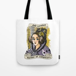 Ada Lovelace Tote Bag