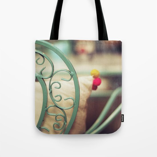 The chair and the pillow Tote Bag