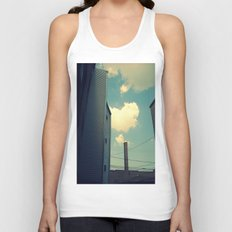 Chicago Clouds and Smokestack Unisex Tank Top