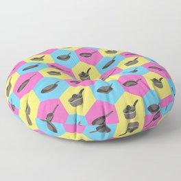 Hex Pans Floor Pillow