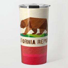 California 2 (rectangular version) Travel Mug