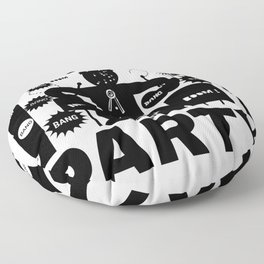Party-Time Drummer Floor Pillow
